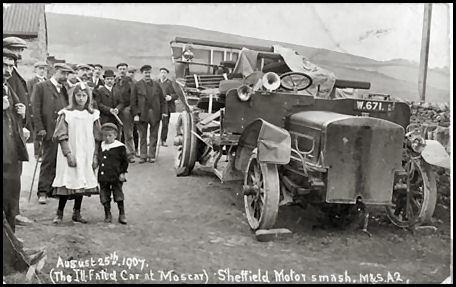 63a9d68f612d Appalling Crash at Moscar - Sheffield August 1907
